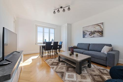 MODERNE APPARTEMENT MEUBLE A PULLY