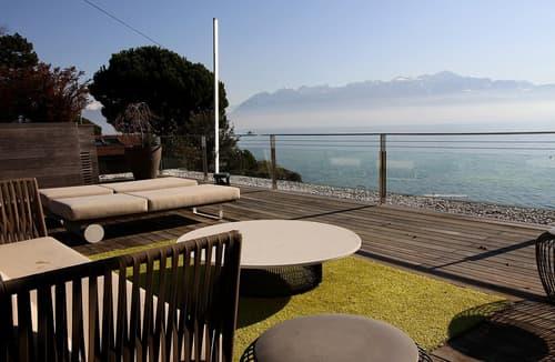 Appartement d'exception pieds dans l'eau à vendre, Lausanne