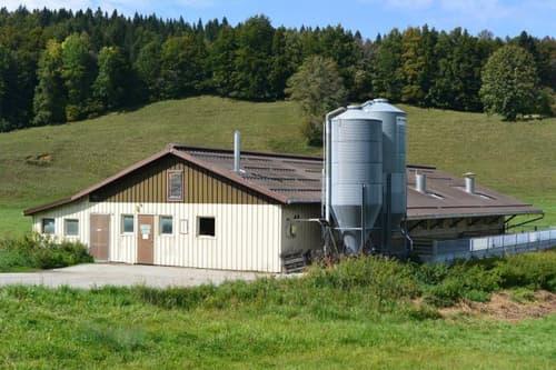 Bâtiment agricole de 296 m2