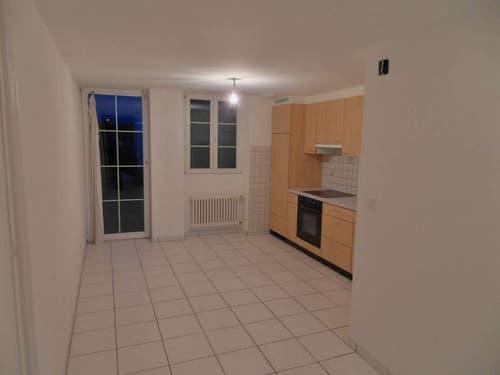 Charmant duplex de 3.5 pièces de 81 m2 au coeur de Payerne avec balcon