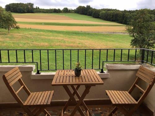 Superbe 2.5 pièces avec balcon, jardin et vue