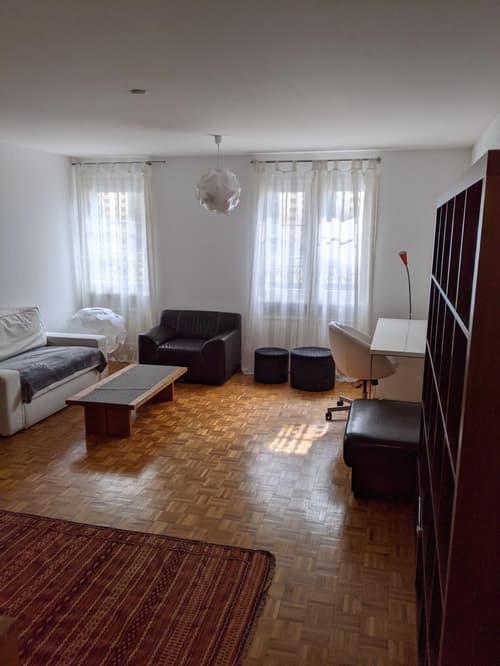 Spacieux 2.5 pièces meublé de 64 m2 au coeur de Lausanne