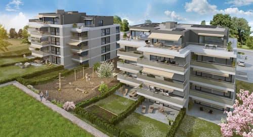 Eolia, votre futur quartier à Cossonay - 3.5 pièces - 3ème étage avec terrasse et vue dégagée