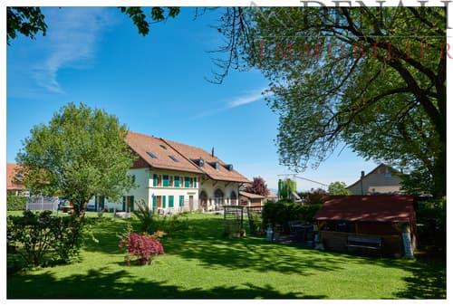Magnifique appartement de 5.5 pces avec jardin privatif de 112m2