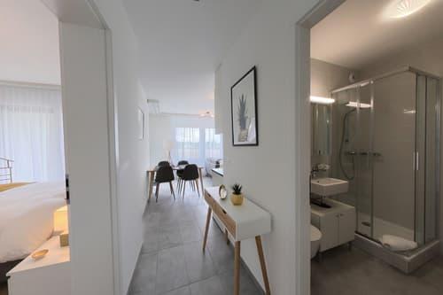 Appartement 2,5 pièces meublé 42 m2 avec parking et balcon Nyon (1)