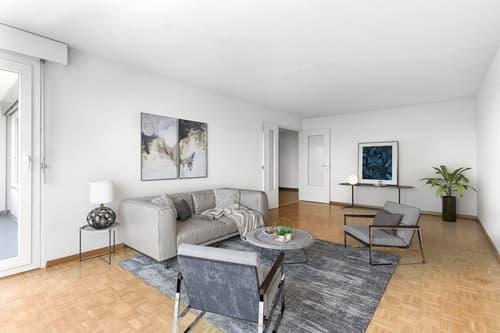 Bel appartement de 3.5 pieces avec balcon (1)