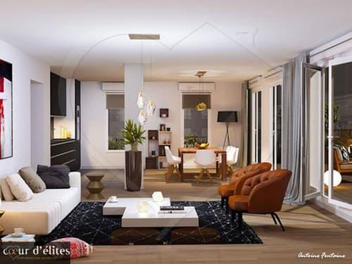 Vends Caluire et Cuire (69300) grand T5 duplex 135m² en attique avec terrasse (1)