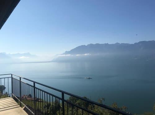 Vue haut lac