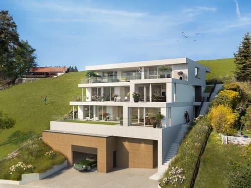 Neubauwohnung mit traumhaftem Bergpanorama (Gartenwohnung)