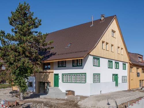 Moderne trifft auf Bauernhausidylle (1)