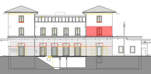 Mendrisio - Superficie commerciale/ufficio di ca. 37m2 al 1 piano