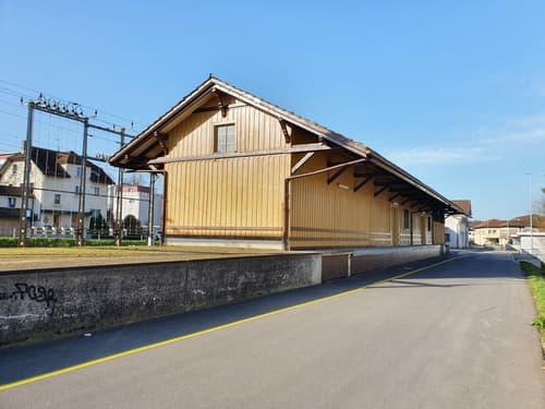 Güterschuppen am Bahnhof Sirnach