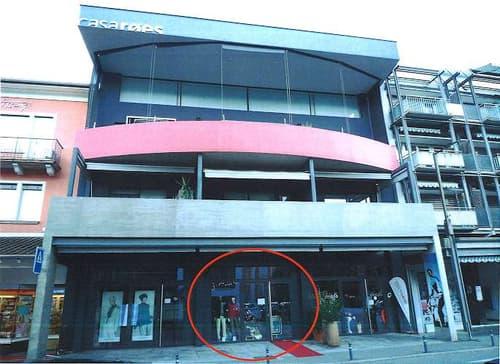 Ascona, negozio/ufficio/studio in ottima posizione centrale (046-02)