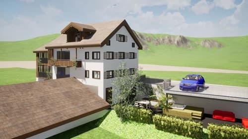 Mehrfamilienhaus mit interessanter Projektstudie