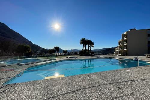 Stupendo 2,5 locali a Cadro con piscina