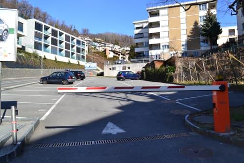 Posteggi Auto Esterni a Canobbio Via Circonvallazione 4 - 6