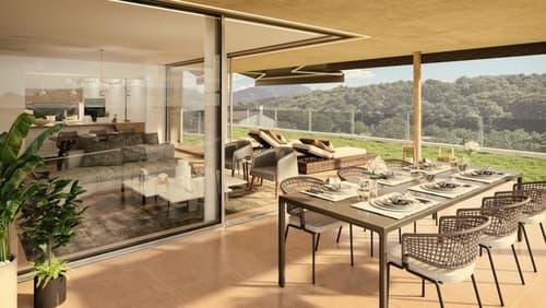 A Comano vendiamo nuovo appartamento di 4 1/2 locali con giardino