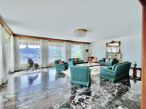 Lugano Ruvigliana - VILLA di charme in posizione di massimo pregio