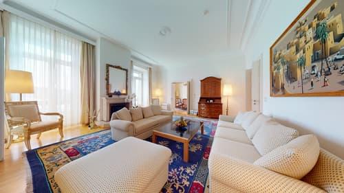 Möblierte Luxus Residenz mitten in Luzern mit Balkon und Seesicht