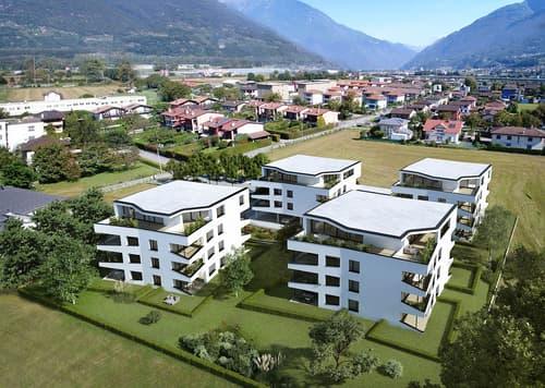 Nuovo appartamento 2.5 locali a S. Antonino (A 1.3)