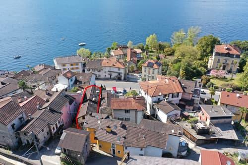 Gemütliche Eigentumswohnung auf 3 Etagen und schöner Sicht auf den Lago Maggiore