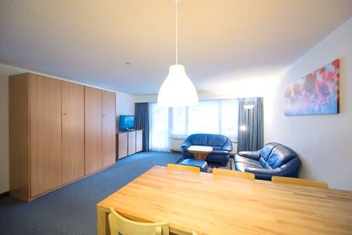 Wintersaison 2020/21 - Davos Platz 2.5-Zimmerwohnung für 4 Personen