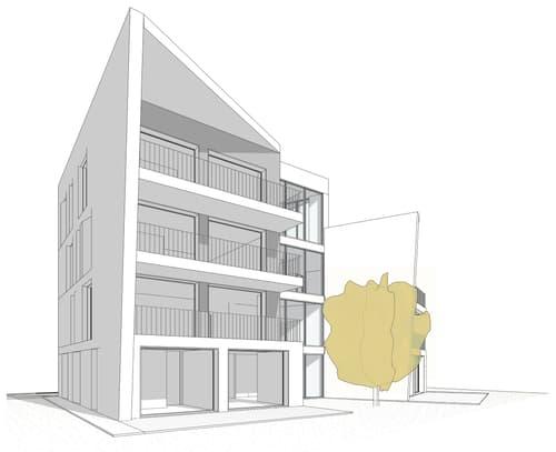 Moderno appartamento al 2° piano con bella terrazza