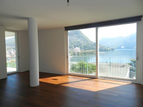 Appartamento centrale con spettacolare vista lago