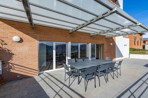 Appartamento con giardino e vista panoramica (1)