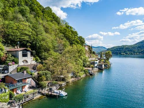 Gioiello architettonico di Mario Botta con terreno a lago (1)