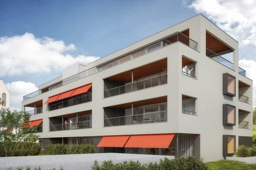 Neubau 3.5-Zimmer-Attikawohnung mit Terrasse von 75 m2