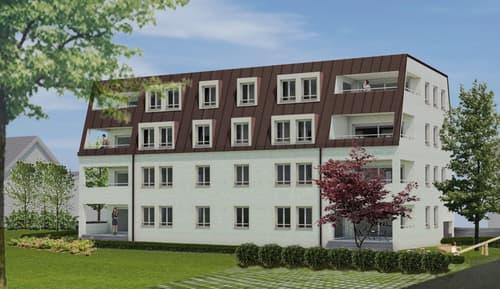 Neubau | 4 attraktive 3.5-Zimmerwohnungen (EG & Attika) zu verkaufen