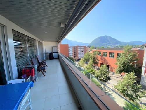 4.5 locali con ampio terrazzo + monolocale al PT