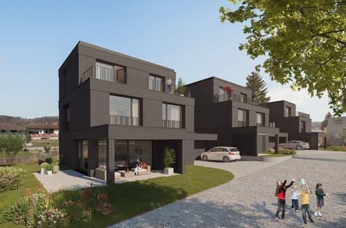Einfamilienhaus-Neubauprojekt in familienfreundlicher Quartierumgebung