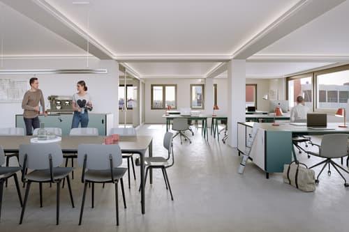 Attraktive und zentral gelegene Büro-/Praxisflächen im prämierten DIENER-HAUS am Bahnhof Basel SBB (1)