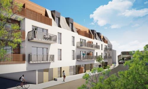 Dpt Vendée (85), à vendre CHATEAU D'OLONNE appartement T2 de 43,2 m² -
