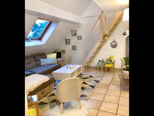 Dpt Territoire de Belfort (90), à vendre BAVILLIERS appartement T3