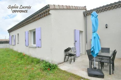 Dpt Drôme (26), à vendre ANNEYRON maison P4 en plain-pied