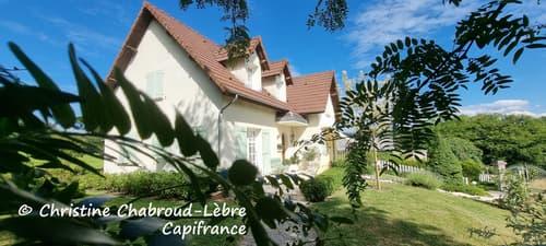 Dpt Allier (03), à vendre ABREST maison 155 m² - atelier + terrain