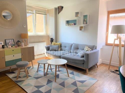 Dpt Yonne (89), à vendre AUXERRE appartement T4  2 CHAMBRES - BUREAU
