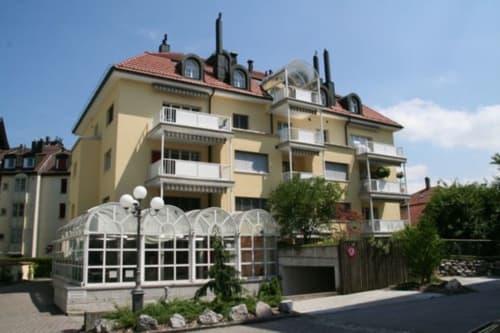 St. Gallen-Feldli-Motorradplatz in Tiefgarage