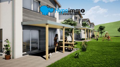 Nouveau quartier résidentiel de 4 villas individuelles