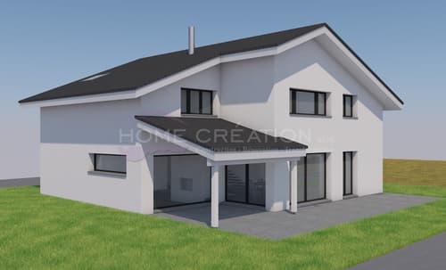 Villa individuelle sur plans