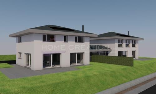 Projet sur plans villa jumelée