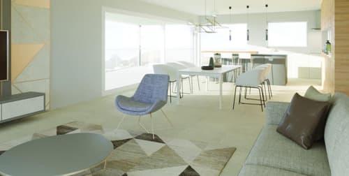 Living de 64 m2 sortie sur terrasse de 30 m2