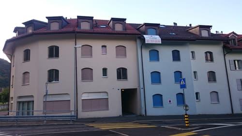 Appartement de 2.5 pièces au rez-de-chaussée