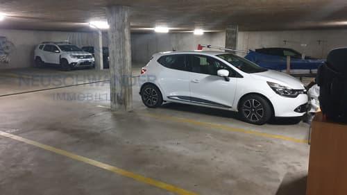 Place de parc dans parking souterrain
