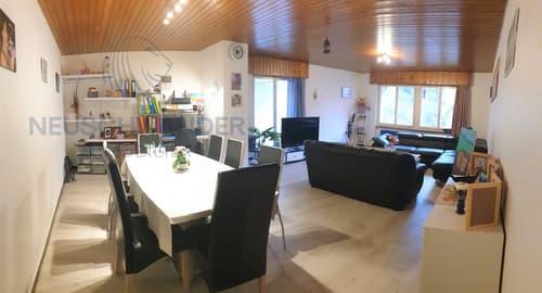 Appartement rénové de 4.5 pièces - 98 m2 avec terrasse 33 m2