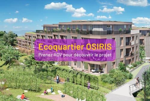 Nouveau Ecoquartier OSIRIS - Echallens - 3.5 pièces E-N