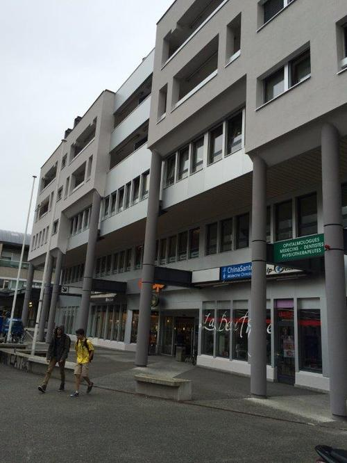 Martigny Rue de la Poste 3-5 - Surface 162 m2